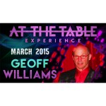 At the Table Live Lecture - Geoff Williams
