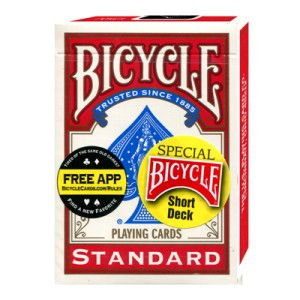 Bicycle Short Deck (Red)
