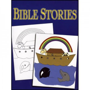 3 Way Coloring Book - Bible (kolorowanka Biblia)