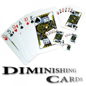 Diminishing Cards by Uday