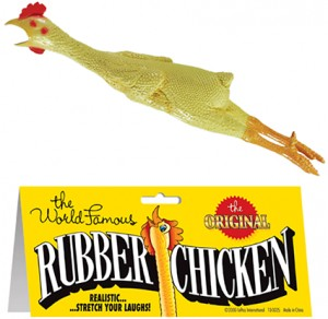 Rubber Chicken (gumowy kurczak) by Loftus