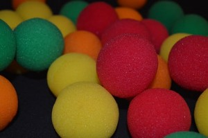 "Sponge Balls - Gąbczaki 2"" 5 cm SUPERSOFT by Gosh"