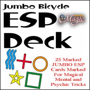 Jumbo Marked ESP Decks (Bicycle Rider Back)