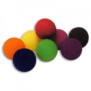 "Sponge Balls - Gąbczaki 1,5"" 3,5 cm (SUPERSOFT) by Gosh"