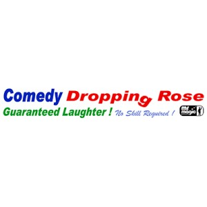 Comedy Drop Rose by Mr. Magic