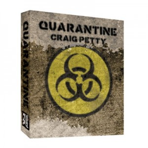 Quarantined RED (Gimmick and DVD) by Craig Petty