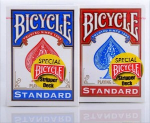 Bicycle Stripper Deck Playing Cards STANDARD