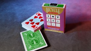 Invisible Deck Bicycle (Green, zielony)